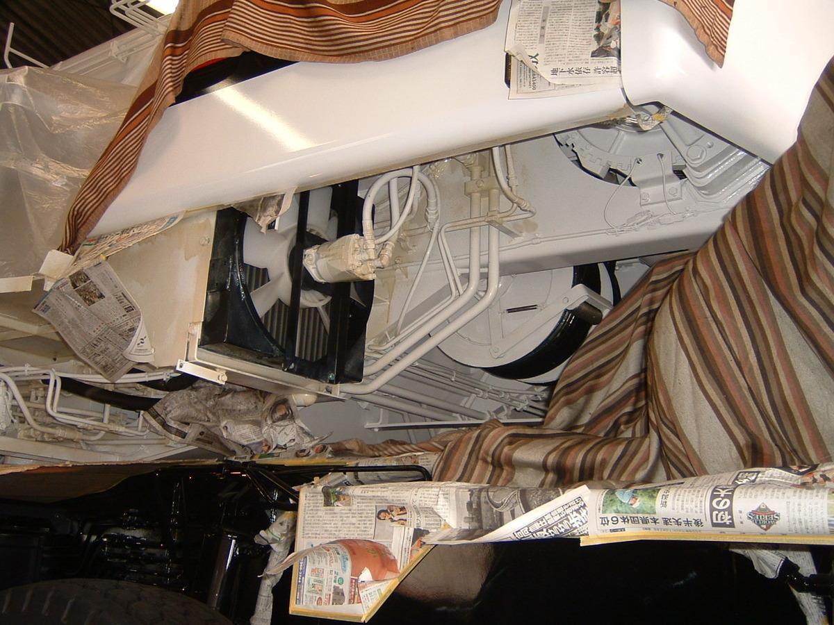 クレーン車のサビ止め施工例2-4