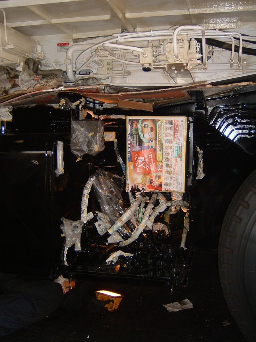 クレーン車のサビ止め施工例2-5