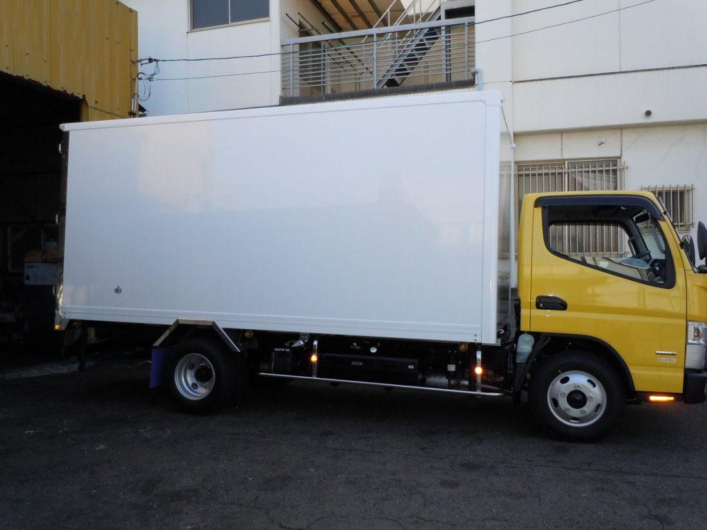 トラックのサビ止め施工例4-1